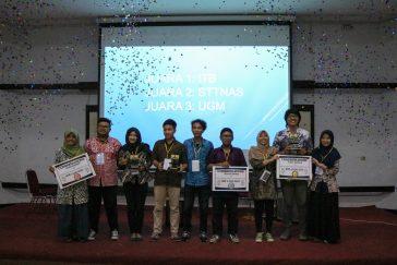 Para pemenang GEOSC 2016