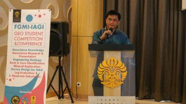 Pembukaan oleh Dekan FMIPA UI, Dr.rer.nat Abdul Haris M. Sc.
